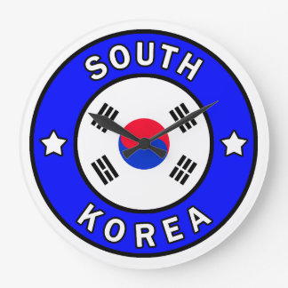 South Korea Large Clock