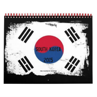 South Korea Major Cities Calendars