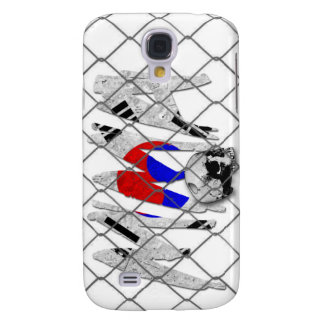 South Korea MMA Skull White iPhone 3G/3GS Case