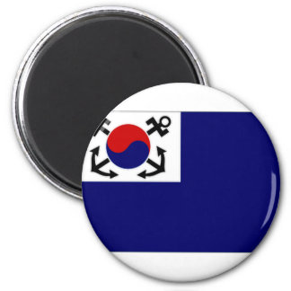 South Korea Naval Jack Magnet