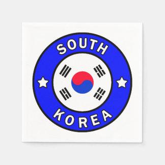 South Korea Paper Napkin