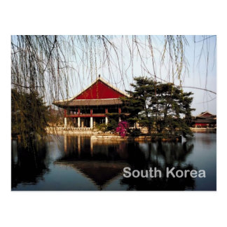 South Korea Postcard