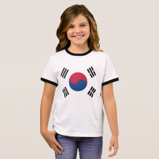 South Korea Ringer T-Shirt