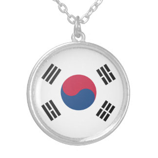 South Korea Silver Plated Necklace