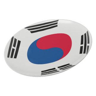 South Korea South Korean Flag Plate