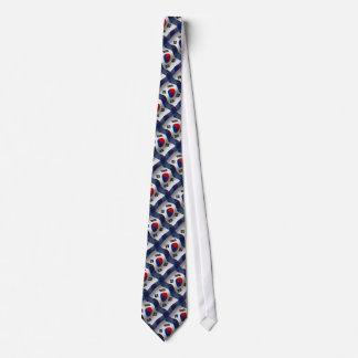 South Korea Waving Flag Tie
