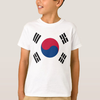 South Korea World Flag T-Shirt