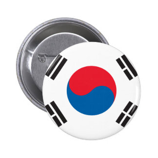 South Korean Flag 2 Inch Round Button