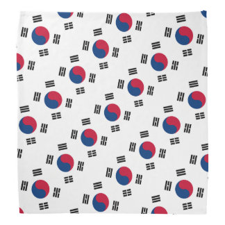 South Korean flag bandana | Colors of Korea