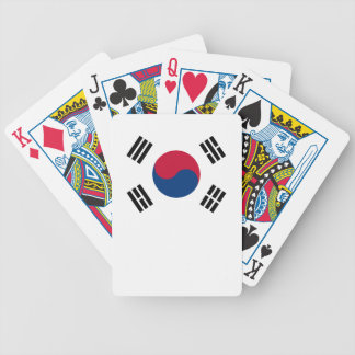 South Korean Flag Bicycle Playing Cards