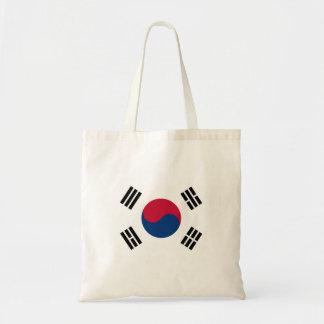 South Korean flag Budget Tote Bag