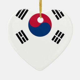 South Korean Flag Ceramic Ornament