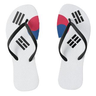 South Korean flag Flip Flops