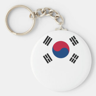 South Korean Flag Keychain