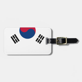 South Korean Flag Luggage Tag