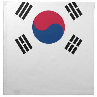 South Korean Flag Napkin