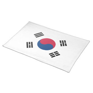 South Korean flag Placemat
