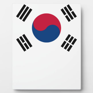 South Korean Flag Plaque