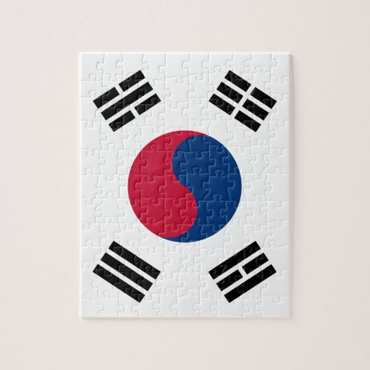South Korean Flag Puzzle