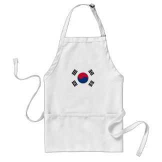 South Korean Flag Standard Apron