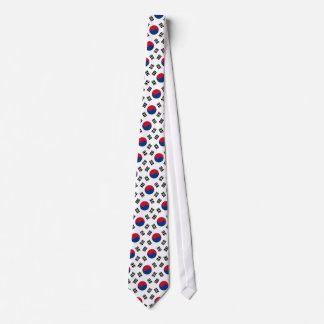 South Korean Flag Tie