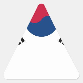 South Korean Flag Triangle Sticker