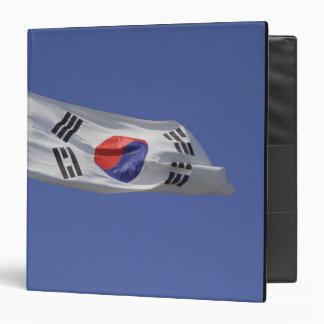 South Korean Flag Vinyl Binders