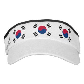 South Korean flag Visor