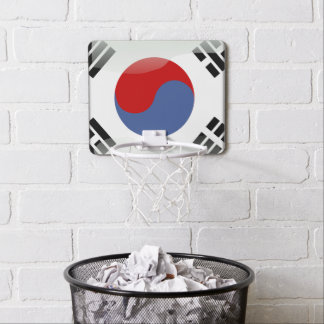 South Korean glossy flag Mini Basketball Hoop