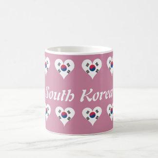 South Korean heart Coffee Mug