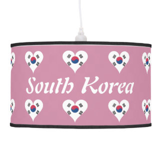 South Korean heart Pendant Lamp