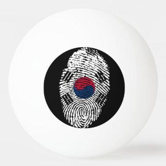 South Korean touch fingerprint flag Ping-Pong Ball