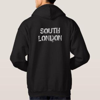 South London - Mens Black Hoodie