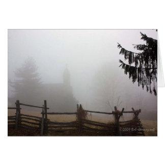 South Mountain Fog Card