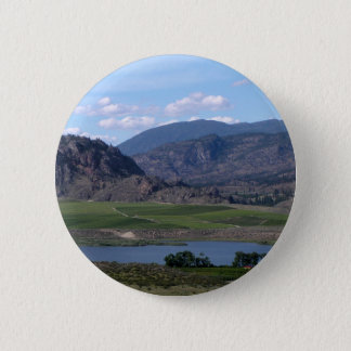 South Okanagan Valley vista 2 Inch Round Button