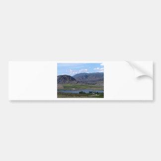 South Okanagan Valley vista Bumper Sticker