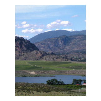 South Okanagan Valley vista Custom Letterhead