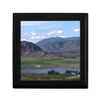 South Okanagan Valley vista Jewelry Box