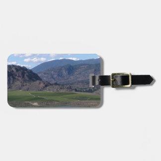 South Okanagan Valley vista Luggage Tag