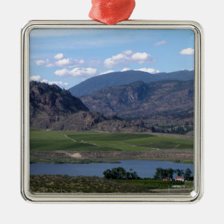 South Okanagan Valley vista Metal Ornament