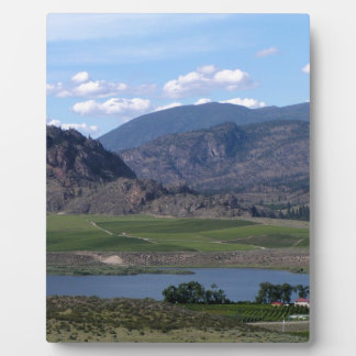 South Okanagan Valley vista Plaque