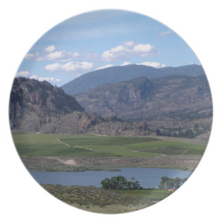 South Okanagan Valley vista Plate