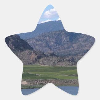 South Okanagan Valley vista Star Sticker