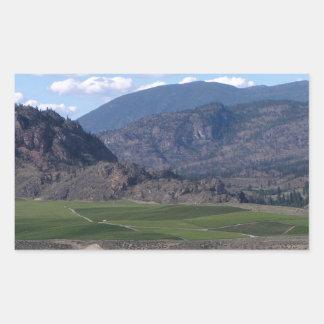 South Okanagan Valley vista Sticker