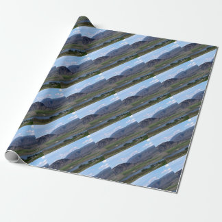 South Okanagan Valley vista Wrapping Paper