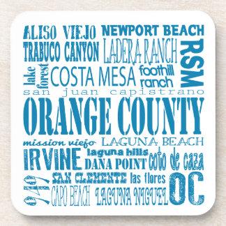 South Orange County 949 Coaster Set