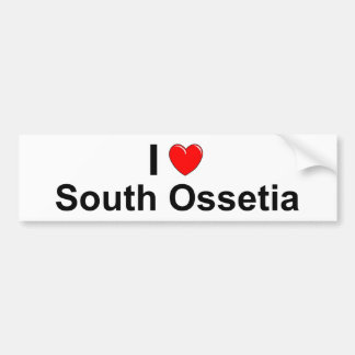 South Ossetia Bumper Sticker