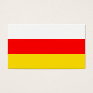 South Ossetia Flag Business Card