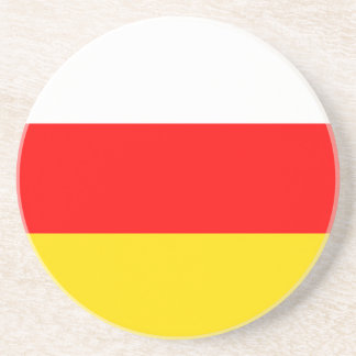 South Ossetia Flag Coaster