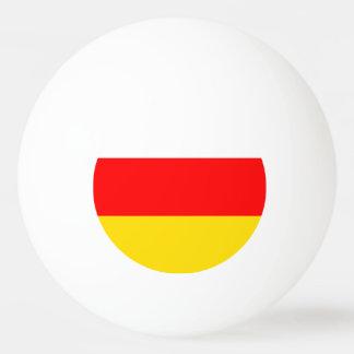 South Ossetia Flag Ping Pong Ball